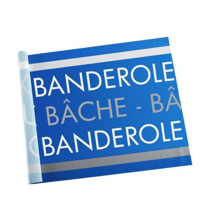 Banderole Intissé & Textile (coupe au format - sans fixation)