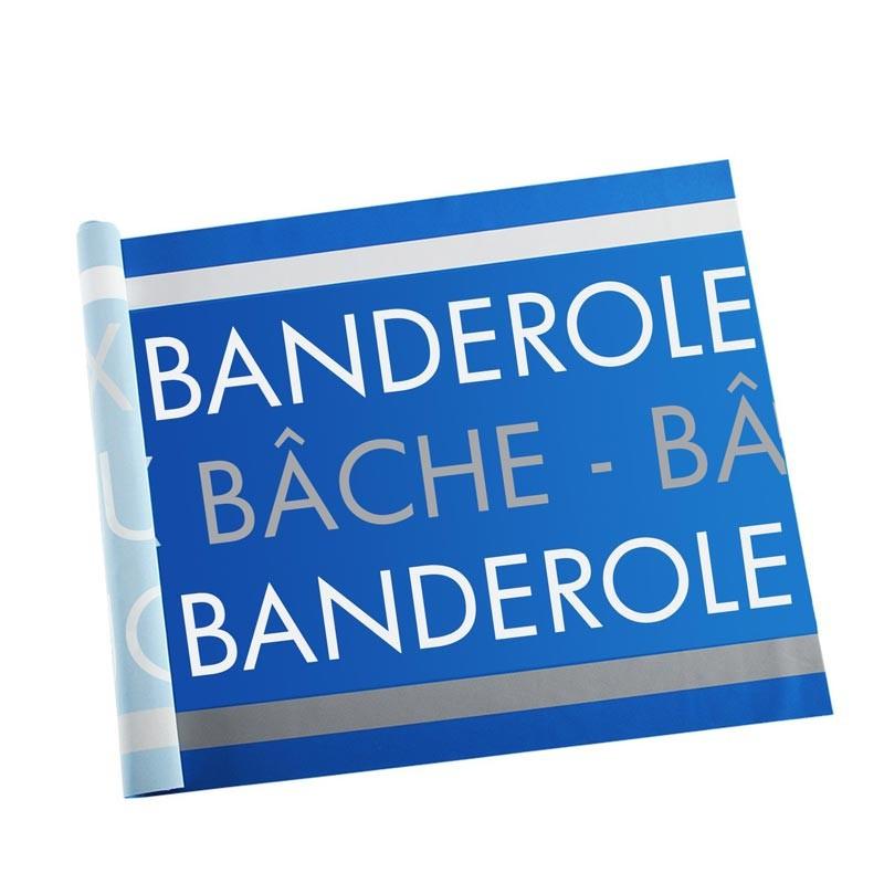 Banderole Intissé & Textile (coupe au format - sans fixation) - MACAP