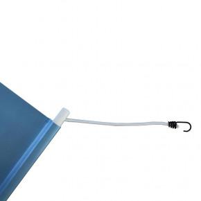 Bâche PVC (fixation tourillons en plastique et sandows) - MACAP
