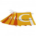 Guirlande en Papier personnalisée - vue fanions -MACAP