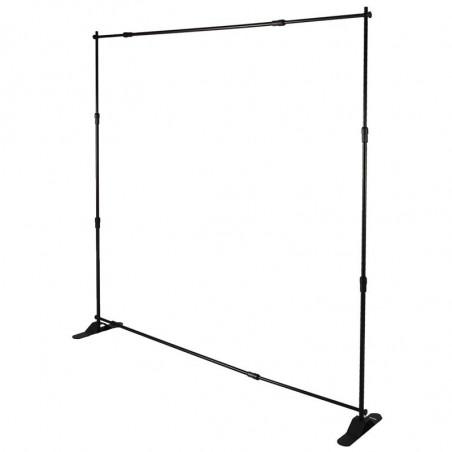 Mur d'Image Télescopique Ajustable (1 face) - vue structure - MACAP