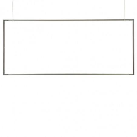 Cadre Toile Tendue suspendu (utilisation intérieure) - vue profilé seul -MACAP