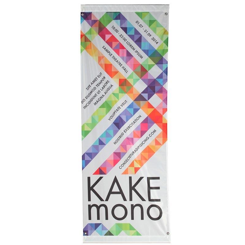 Kakémono pour lampadaire avec potence fixe essentielle visuel seul - MACAP