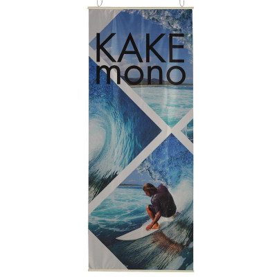 Kakémono Suspendu (Fixation barre de suspension en plastique)