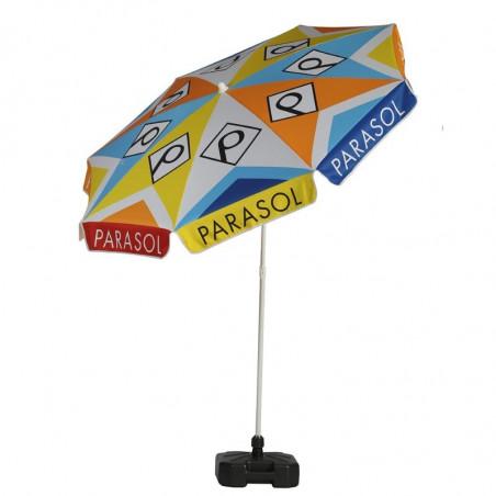 Parasol Personnalisé - vue côté  -MACAP