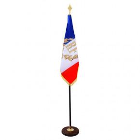 Drapeau d'Ornement et de Défilé (Français personnalisé) - MACAP