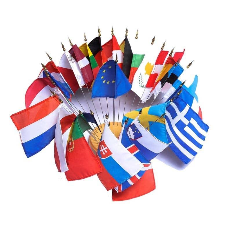 Drapeau de Table Officiel (Région, Pays) MACAP