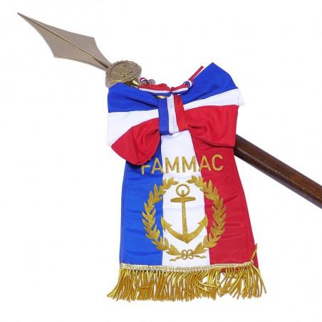 Cravate officielle pour hampe MACAP