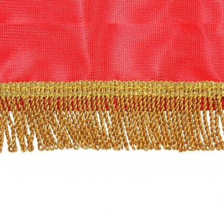 Drap mortuaire - vue frange filée or -MACAP
