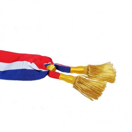 Écharpe de maire et de parlementaire - vue côté -MACAP