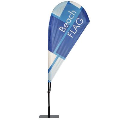 Beach flag - Oriflamme GOUTTE D'EAU (KIT complet) - MACAP