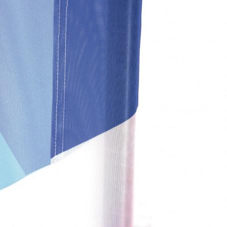 Beach flag - Oriflamme GOUTTE D'EAU (KIT complet) - vue graos plan fourreau voile -MACAP