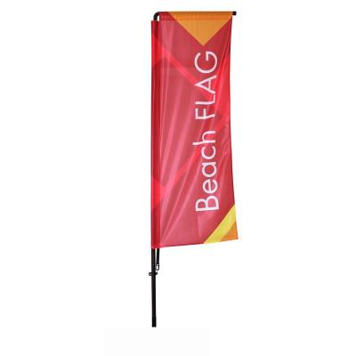 Beach flag - Oriflamme POTENCE (MAT + VOILE)