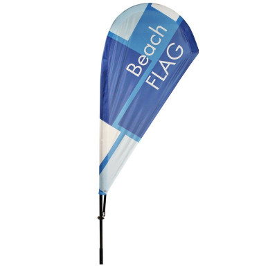 Beach flag - Oriflamme GOUTTE D'EAU (MAT + VOILE) - MACAP