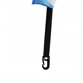 Beach flag - Oriflamme GOUTTE D'EAU (VOILE SEULE) - vue fixation basse - MACAP