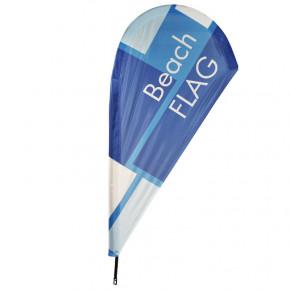 Beach flag - Oriflamme GOUTTE D'EAU (VOILE SEULE) - MACAP