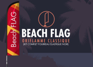 Beachflag communication visuelle