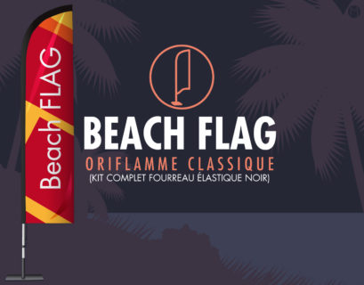Beachflag communication visuelle