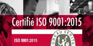 La société Macap est certifiée ISO 9001 : 2015 par le bureau veritas, leader mondial de la certification