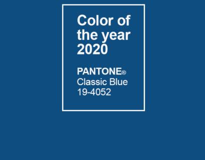 Pantone a annoncé que la couleur de l'année 2020 sera le Classic Blue
