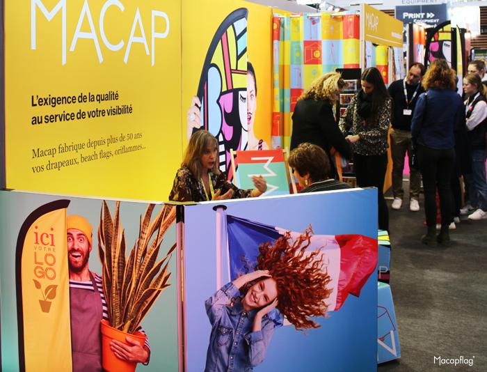 La société Macap était présente au Salon C!Print 2020 à Lyon