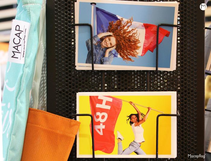 Les cartes postales Macap aux couleurs de la communication évènementielle
