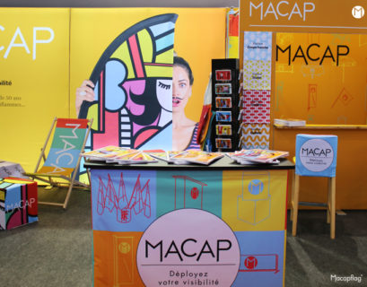 Le stand Macap au salon C!Print du 3 au 5 Février 2020 à Lyon