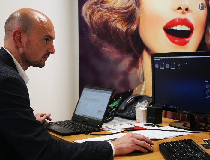 Xavier Boosz est directeur commercial de la société Macap à Cuers
