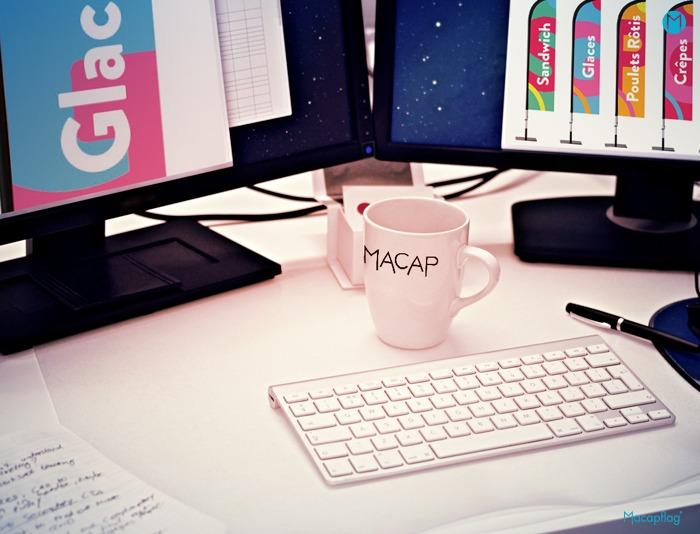 Le service infographie de la société Macap vous accompagne dans vos créations