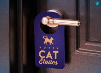 Les outils de plv pour hotels. Agencement extérieur et intérieur