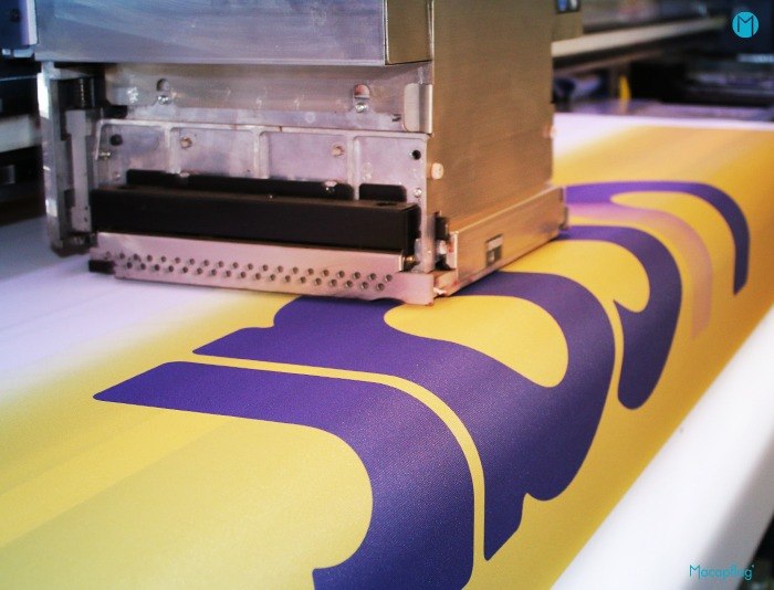 Les supports textiles grand format imprimés en haute définition