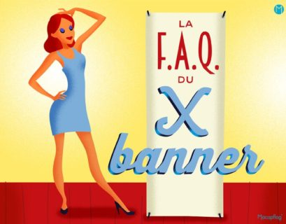 Le x banner un support de communication pratique et economique