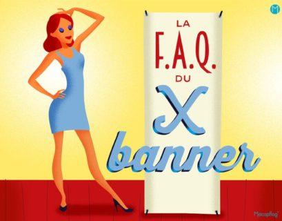 Le x banner un support de communication pratique et economique