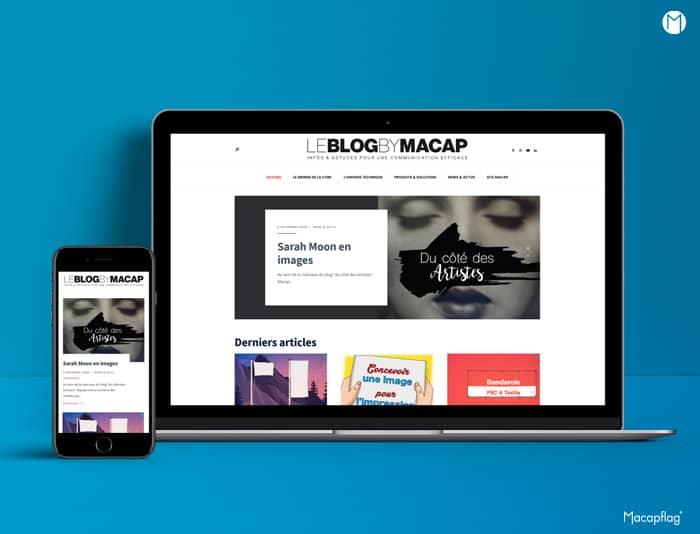 Macap présente son nouveau blog d'astuces pour votre communication