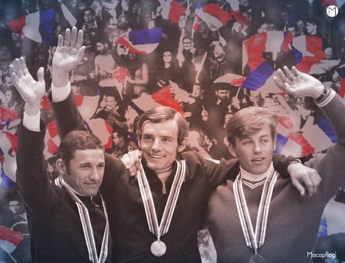 Jean-Claude Killy au top de son sport en 1968