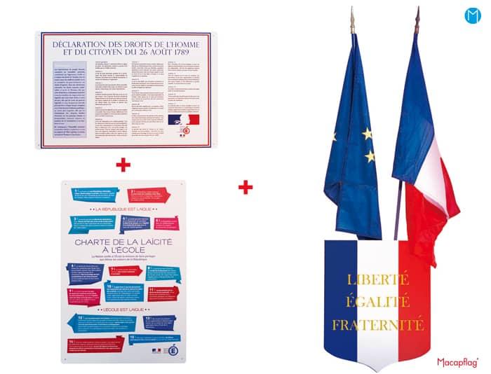 Elements d'affichage kit loi Peillon