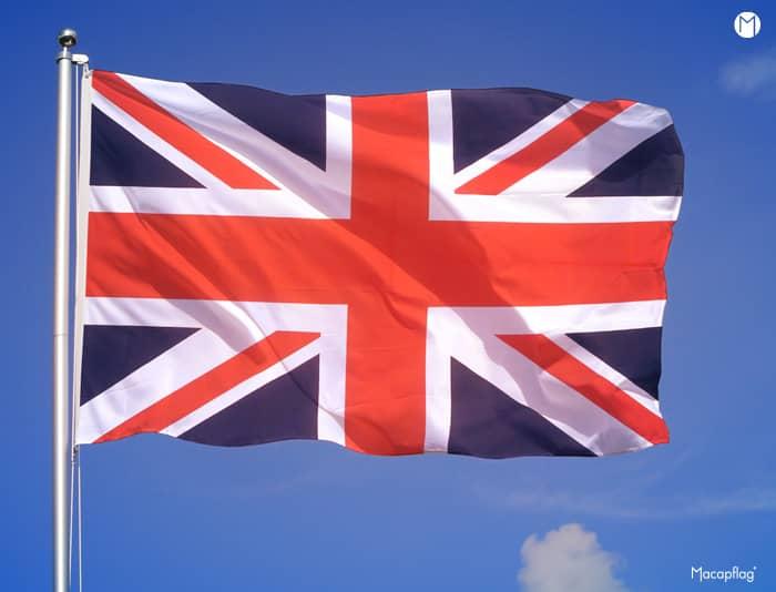 Le drapeau de l'Union Jack a été crée en 1606