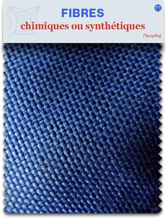 Fibres textiles chimiques ou synthétiques pour textiles