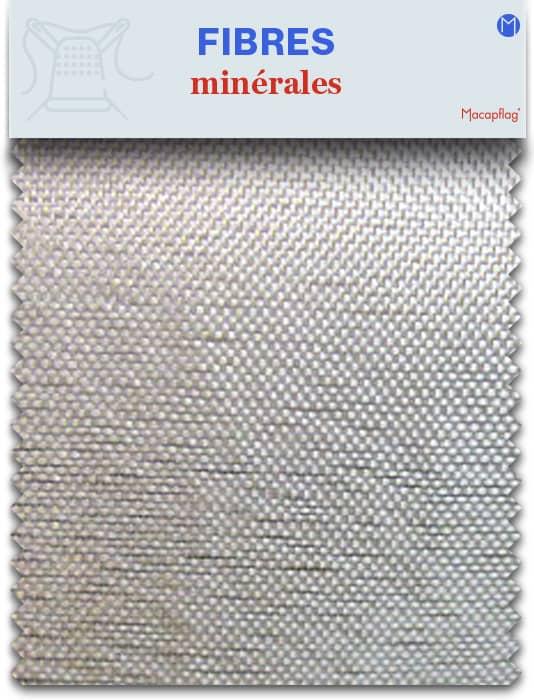 Les fibres minérales servent à fabriquer certains textiles