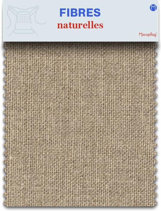 Les fibres naturelles utilisées pour fabriquer du textile
