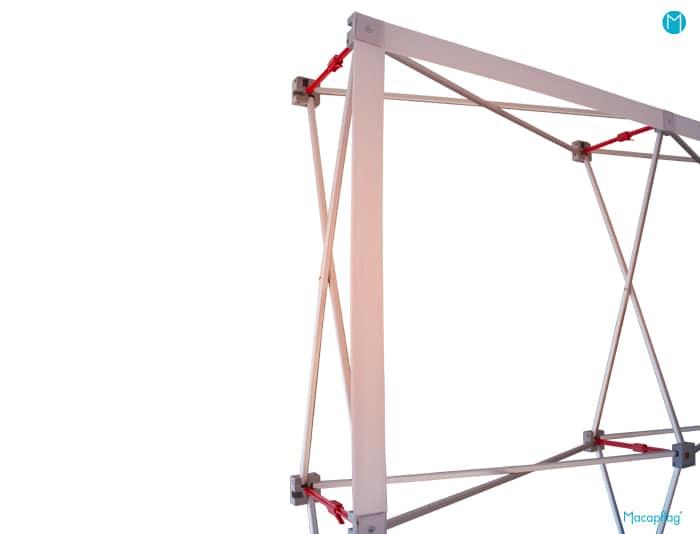 Structure support du stand parapluie