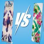 Roll up ou X Banner, la short list pour comparer ces 2 produits