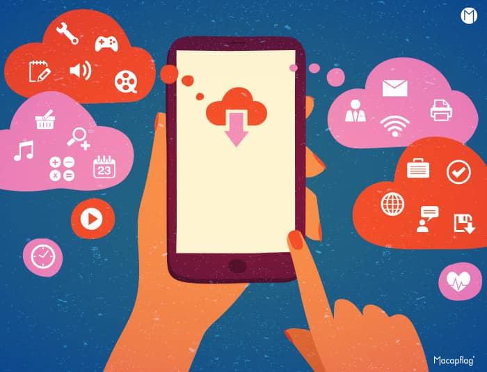 Le métier de développeur d'applications mobiles et logiciels