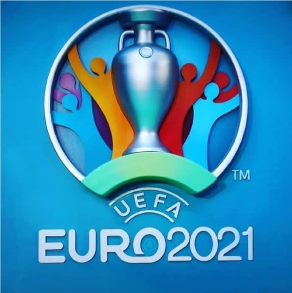 Logo officiel de l'Euro de foot 2021 UEFA