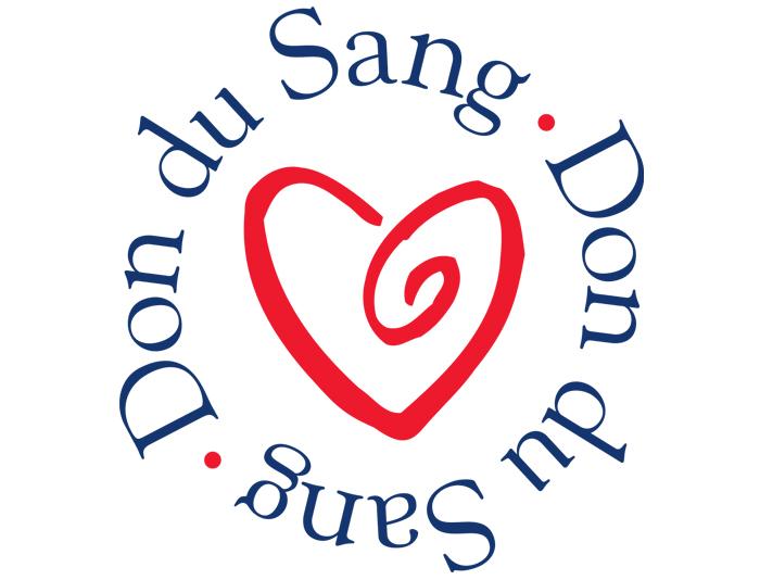 Le logo du don du sang est axé sur la solidarité humaine