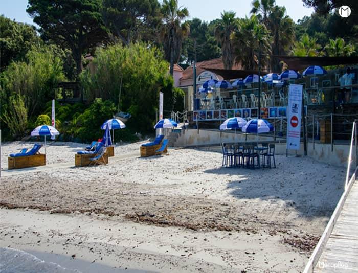 La plage de l'association un fauteuil à la mer