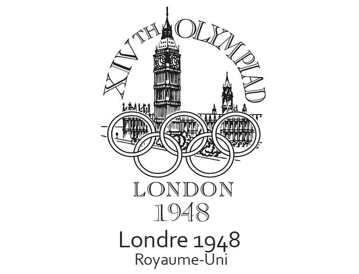 Les jeux olympiques (JO) de 1948 ont eu lieu à Londres en Angleterre