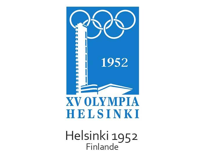 Les jeux olympiques (JO) de 1952 ont eu lieu à Helsinki en Finlande