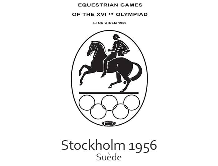 Les jeux olympiques (JO) de 1956 ont eu lieu à Stockholm en Suède