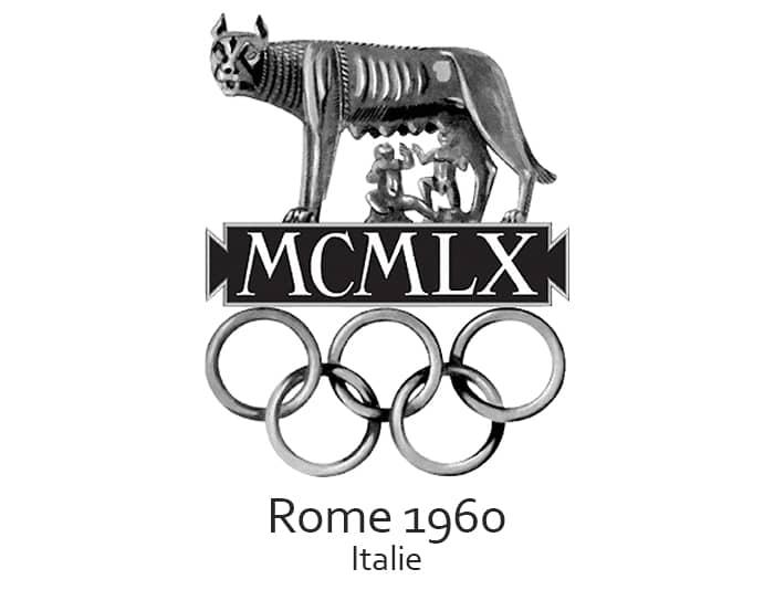 Les jeux olympiques (JO) de 1960 ont eu lieu à Rome en Italie